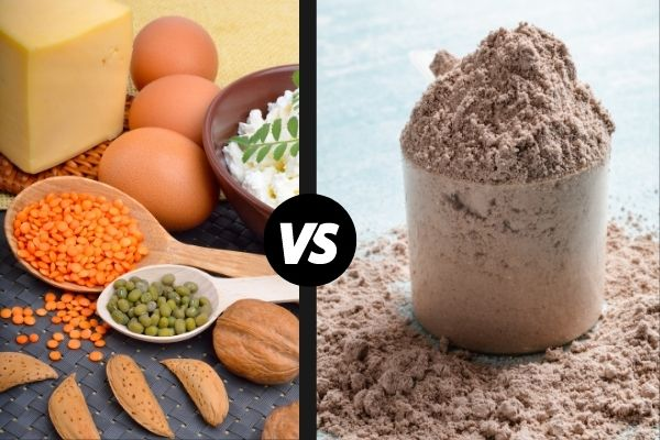 protein powder vs whole foods